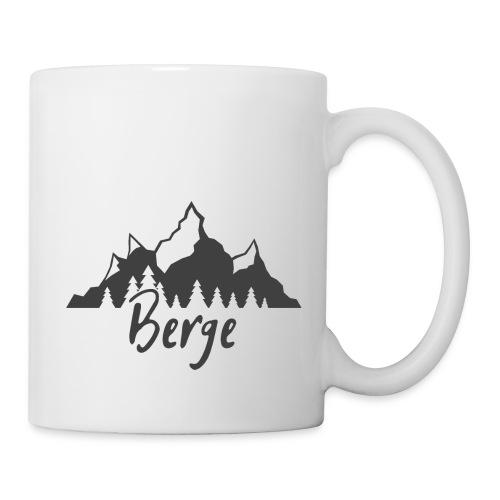 Berge klassisch - Tasse