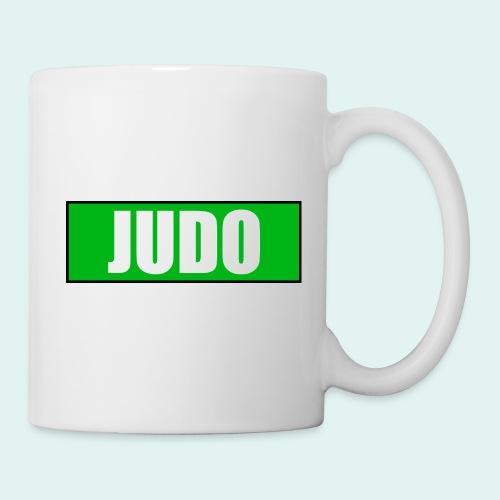 Judo Gruen 3. Kyu - Tasse