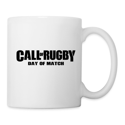 call of rugby - Mug blanc