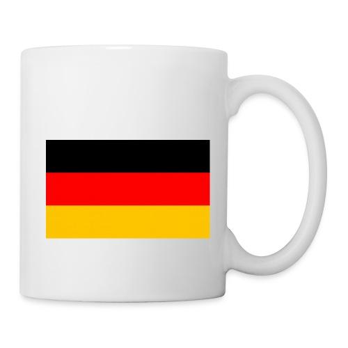 Deutschland Flagge groß - Tasse