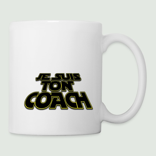 je suis ton coach - Mug blanc