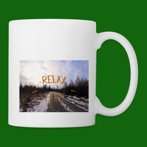 Relax and take a hike - Mug