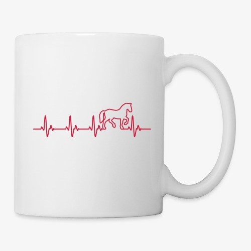 Vorschau: Horse Heartbeat - Tasse