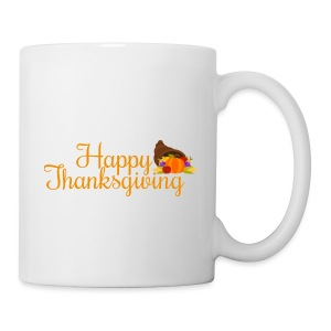 Happy Thanksgiving Words - Mug