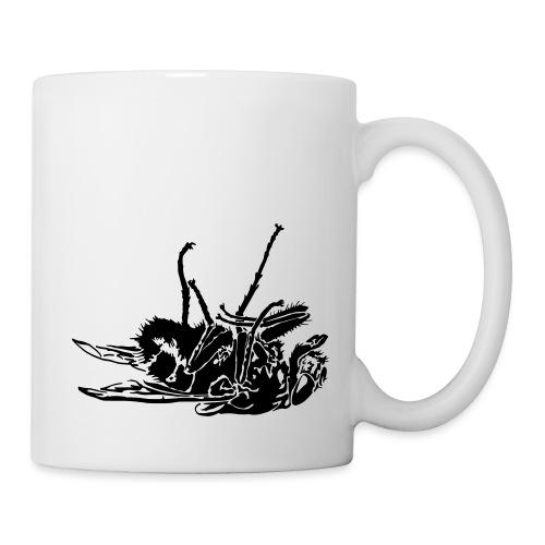 mouche morte - Mug blanc