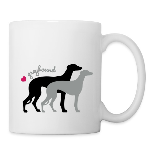 Greyhound Duo kif - Mug blanc