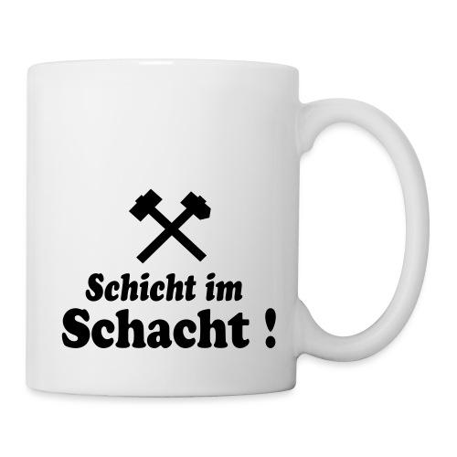Schicht im Schacht - Hammer und Eisen - Tasse