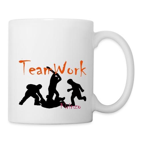 team work V2 - Mug blanc