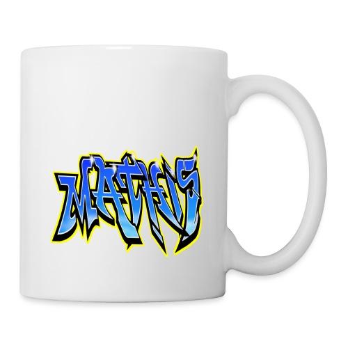 Graffiti Mathis - Mug blanc