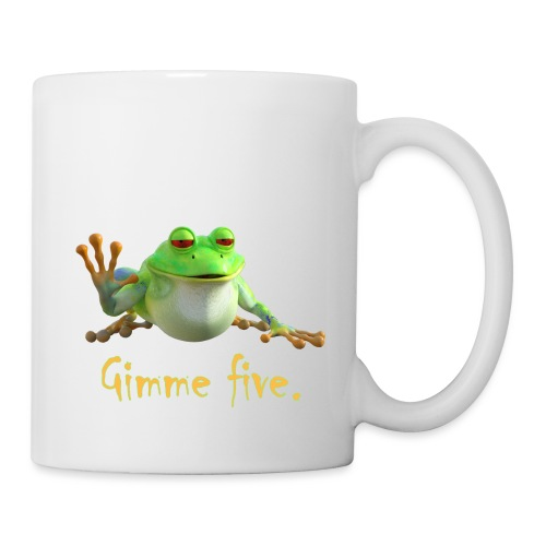 Gimme five - Tasse