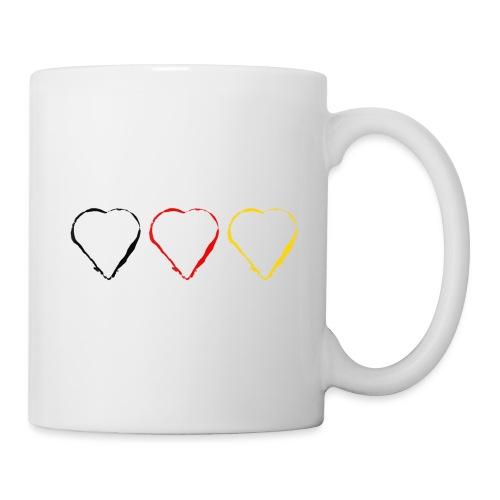 3 Herzen Deutschland #1 - Tasse