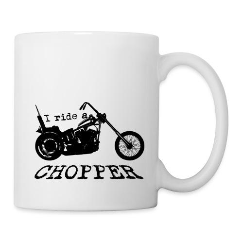 I ride a chopper - sort - Kop/krus