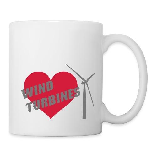 wind turbine grey - Mug
