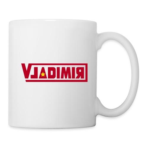 vladimir logo - Mug blanc