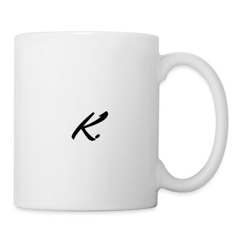 K - Mug blanc