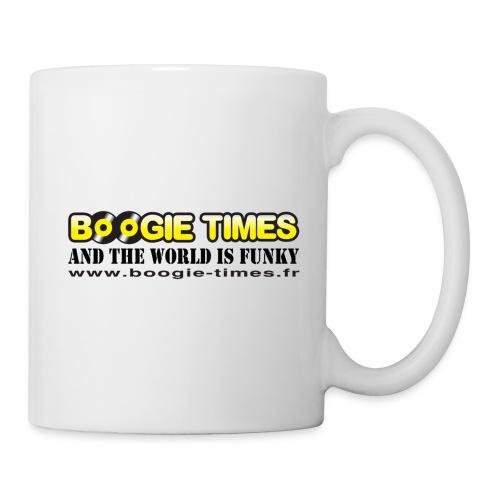 WORLD IS FUNKY ts white - Mug