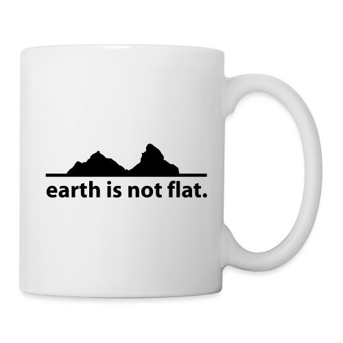 earth is not flat. - Tasse