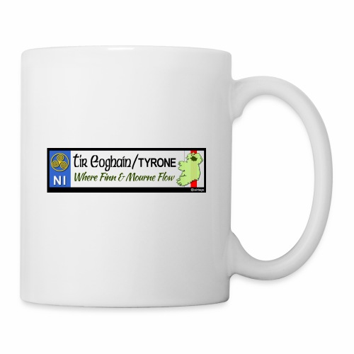 TYRONE, NORTHERN IRELAND licence plate tags decal - Mug