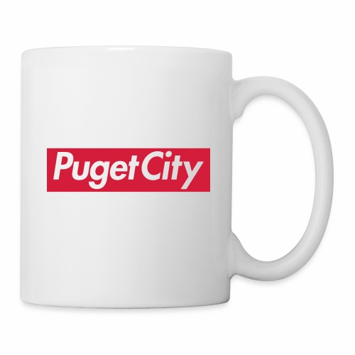 PugetCity - Mug blanc