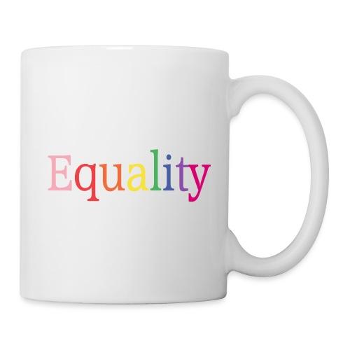Equality | Regenbogen | LGBT | Proud - Tasse