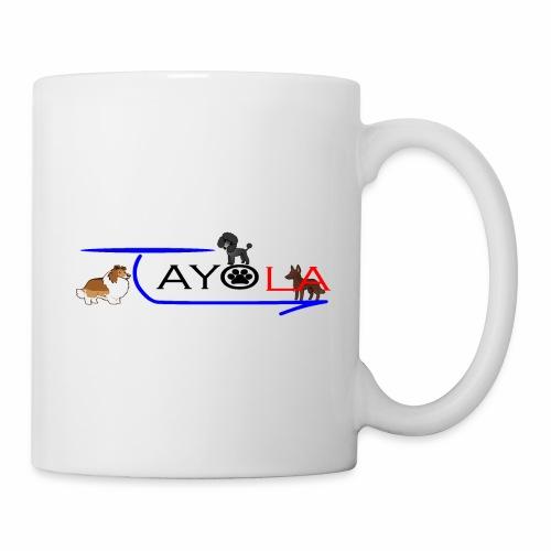 Tayola Black - Mug blanc
