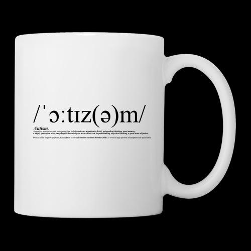 AUTISM BLACK - Mug