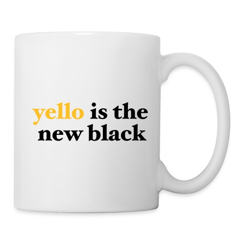 yello is the new black - Tasse