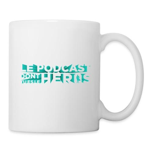 Le podcast dont tu es le héros - Mug blanc