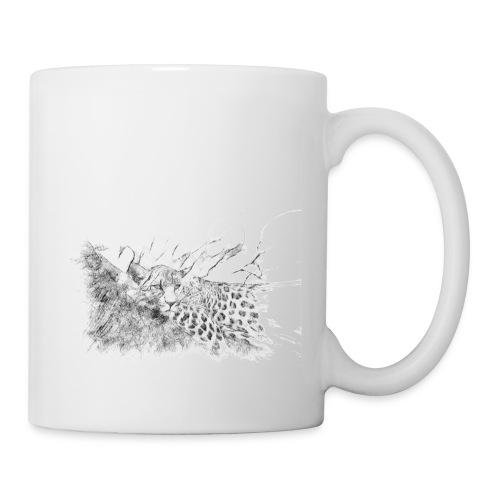 La panthère dans l'arbre - Mug blanc
