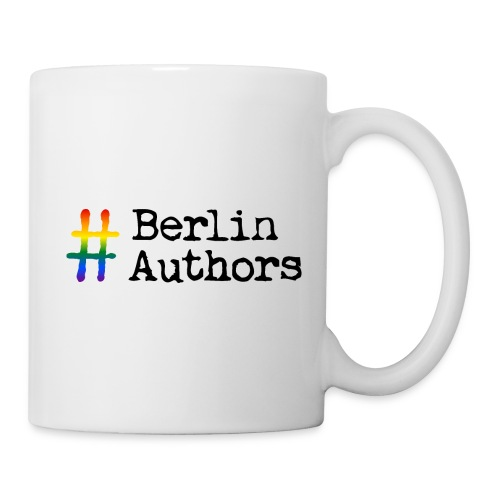 BerlinAuthors Logo Rainbow - Tasse