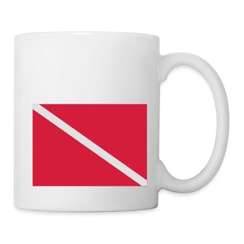 Diver Flag - Mug