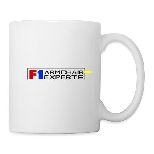 F1 Armchair Experts Logo BK - Mug