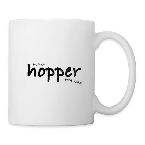 MuchoHop Hop On/Off (black) - Taza