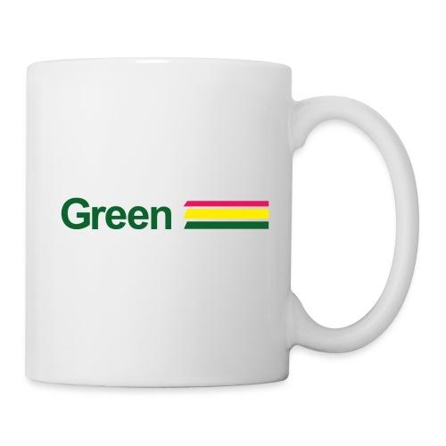 green - Mug blanc