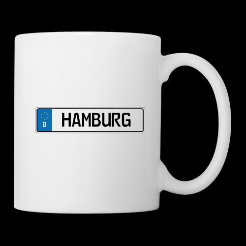 Kennzeichen Hamburg - Tasse