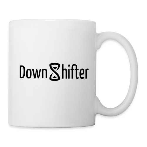 downshifterlogo - Tasse