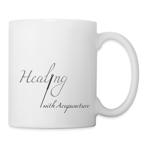 Healing with acupuncture - Mug blanc
