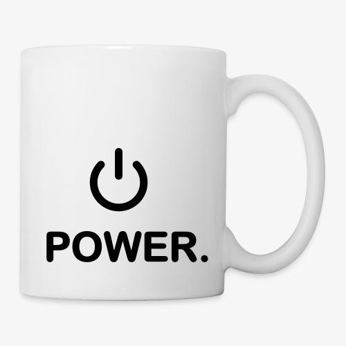 power - Mug blanc