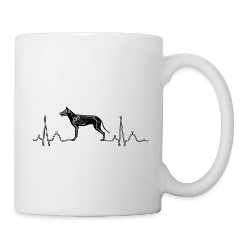 ECG met hond - Mok