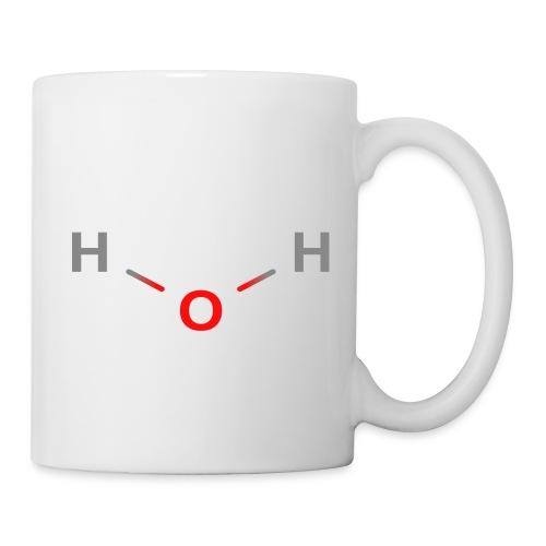 Water Molecule - Colored Structural Formula - Kop/krus