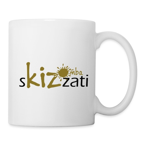 Beanie in jersey con logo sKizzati Kizomba - Verde - Tazza