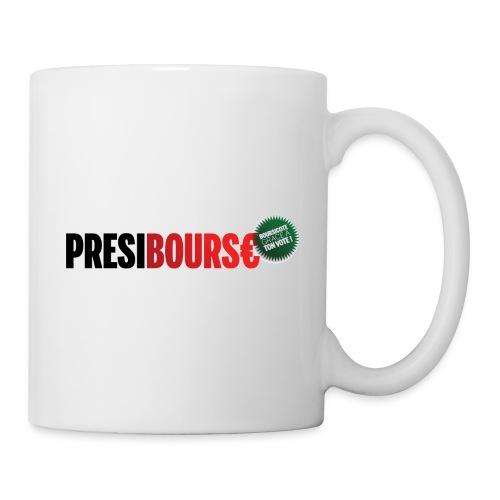 Logo Présibourse cocarde - Mug blanc