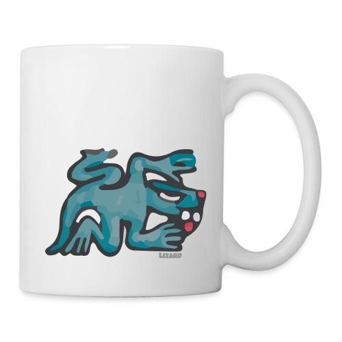 Aztec Lizard/Net - Mug