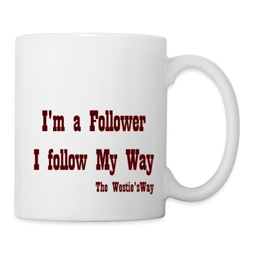 I follow My Way Brown - Kubek