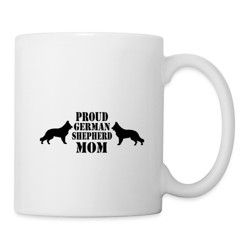 Proud german shepherd mom - Kop/krus