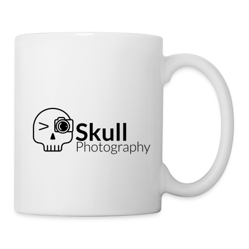 Skull_Photography_Logo_black - Tasse