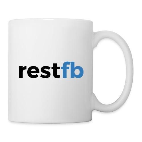 RestFB logo black - Mug