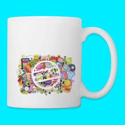 maglia logo doodle - Tazza