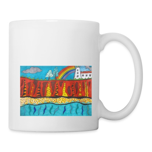 Lighthouse on the Cliff - Mug