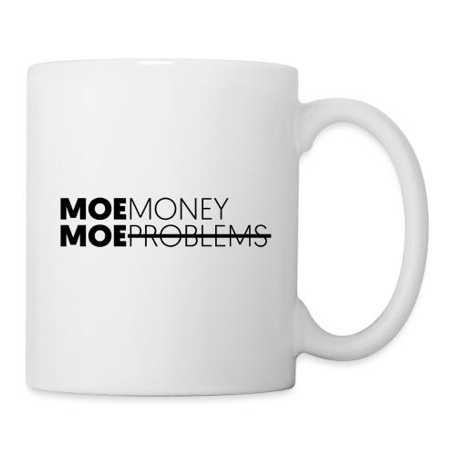 MOEMoneyMoeproblems BLACK - Tasse